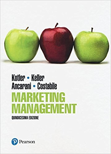 "Copertina del libro ""Marketing Management"" di Philip Kotler"