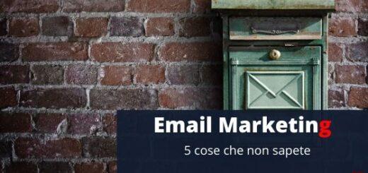 Email marketing - 5 tecniche