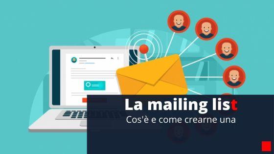 Mailing-list-cosa-è