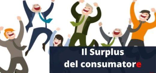 Surplus del consumatore - Che cos'è